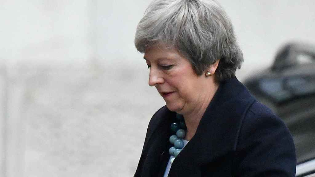 May este lunes, en Downing Street