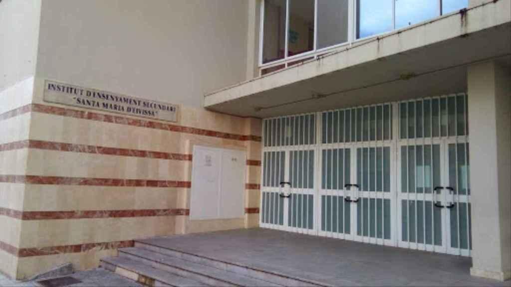 En el IES Santa María de Ibiza hay problemas para encontrar personal que limpie las aulas por cuestión de idioma