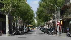 Una calle de Barcelona en una imagen de archivo.