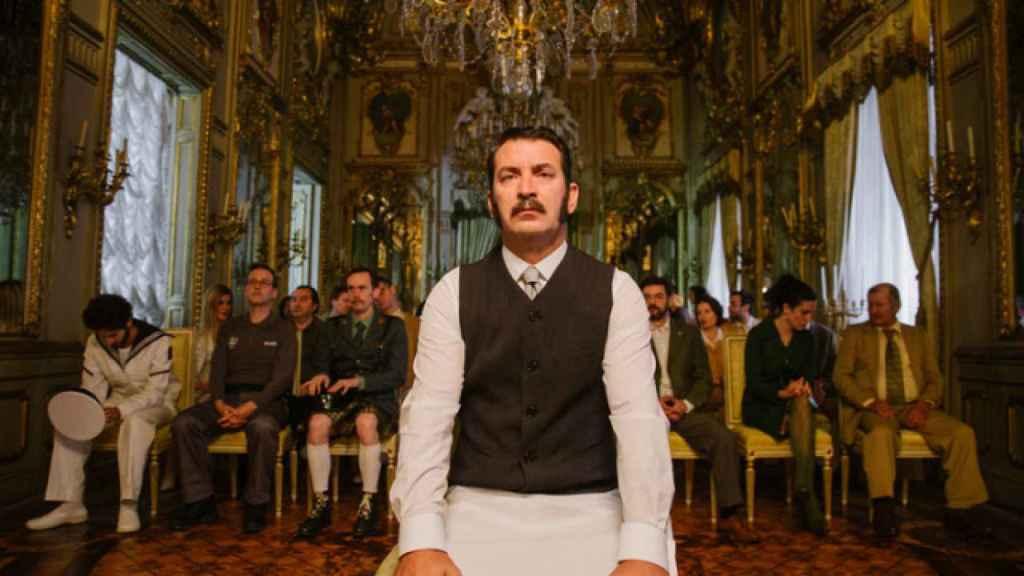 Arturo Valls en la película.