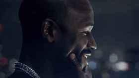 Mayweather en su vídeo promocional del combate