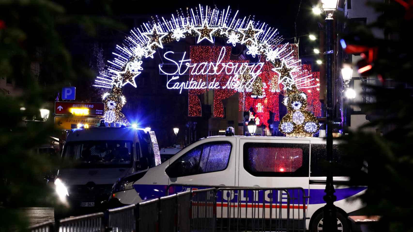 El tiroteo en Estrasburgo, en imágenes