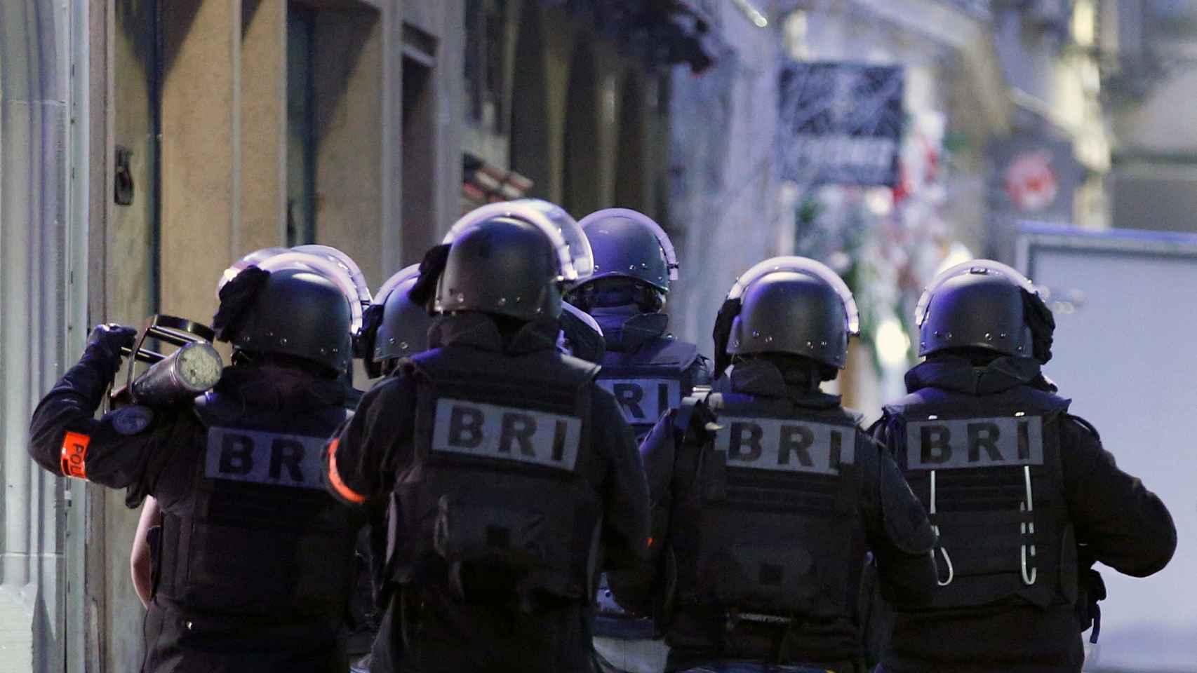 Piscosis terrorista en Estrasburgo