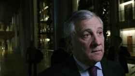 Antonio Tajani, presidente del Parlamento Europeo, en la sede de Estrasburgo.