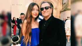 Paco Lobatón con su hija, en una fotografía reciente.