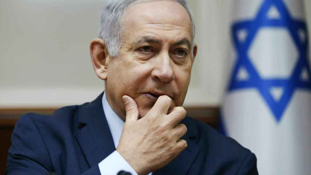 Benjamin Netanyahu, primer ministro de Israel.