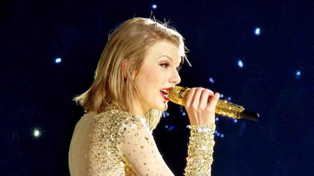 Taylor Swift, durante una actuación.