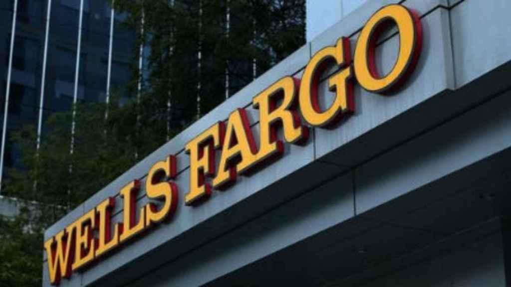 Logo de Wells Fargo.