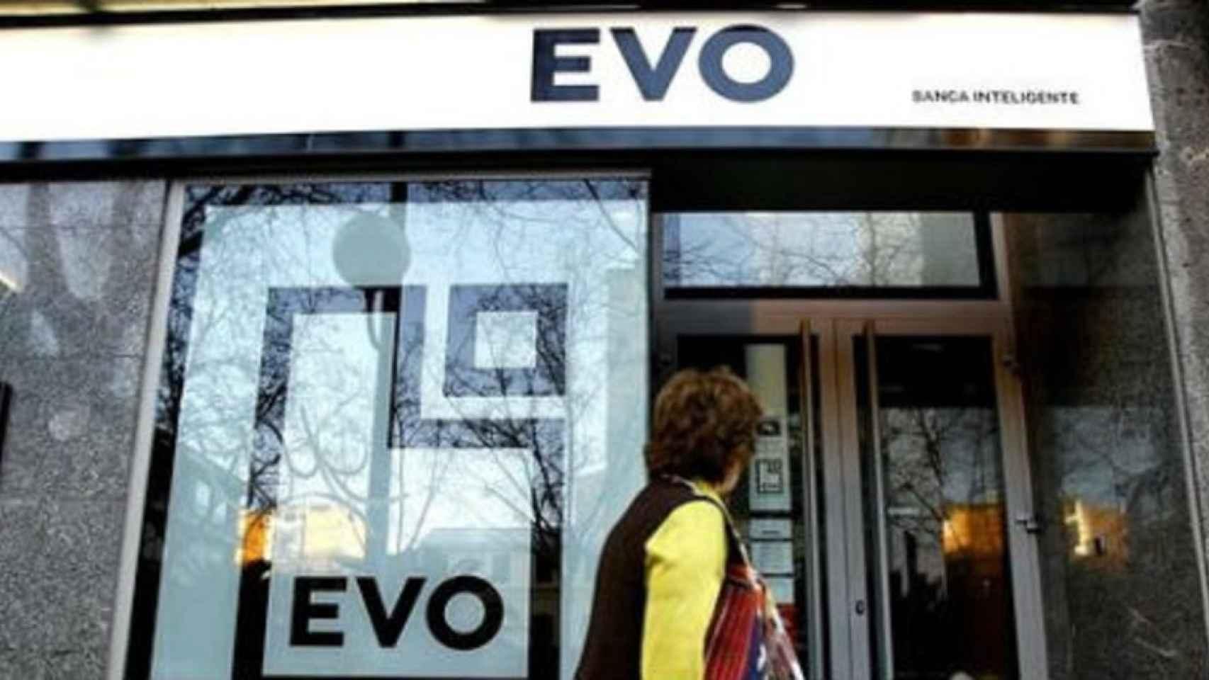 Oficina de EVO Banco.