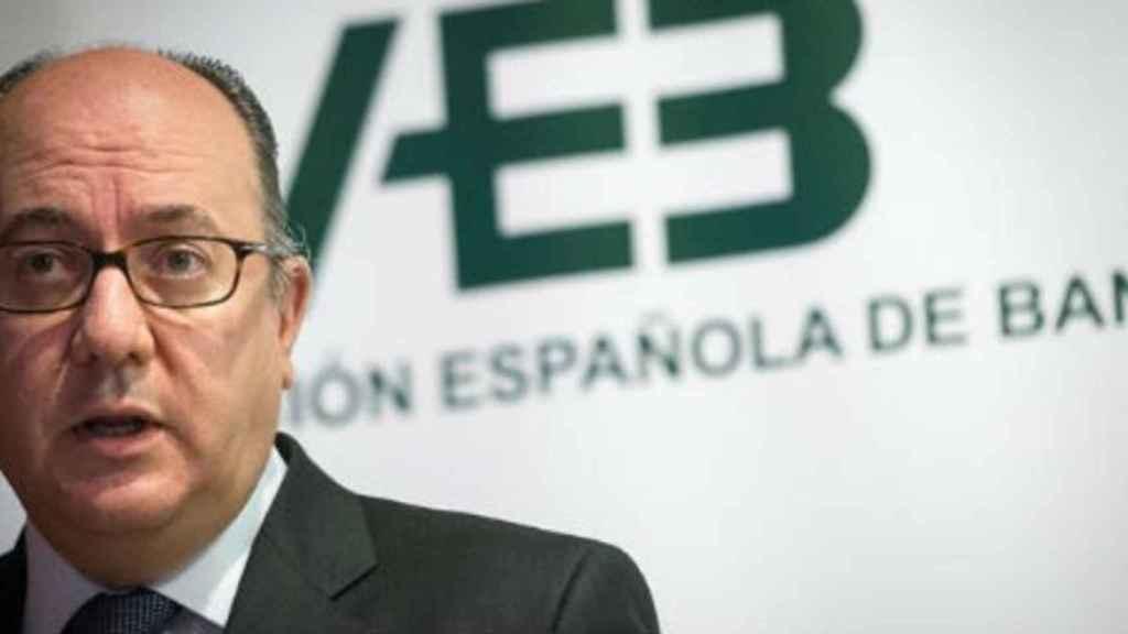 El presidente de la AEB, José María Roldán.