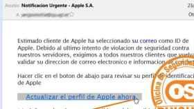 El correo en el que los estafadores alertan de un problema urgente en Apple