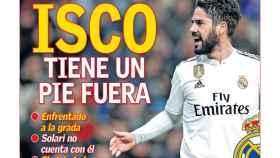 La portada del diario AS (14/12/2018)