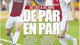 La portada del diario Mundo Deportivo (14/12/2018)