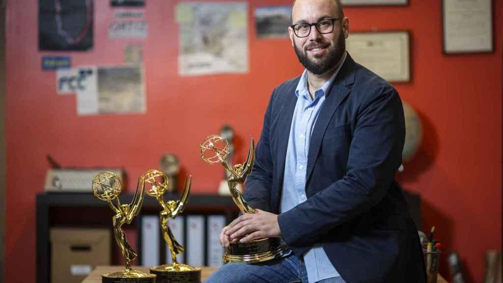 Tomás Ocaña, presentador del programa, ganador de tres premios Emmy.