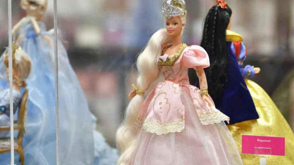 Algunas de las Barbies que se expondrán en Madrid
