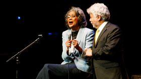 Nancy Wilson, durante un concierto en Toronto en 2008.