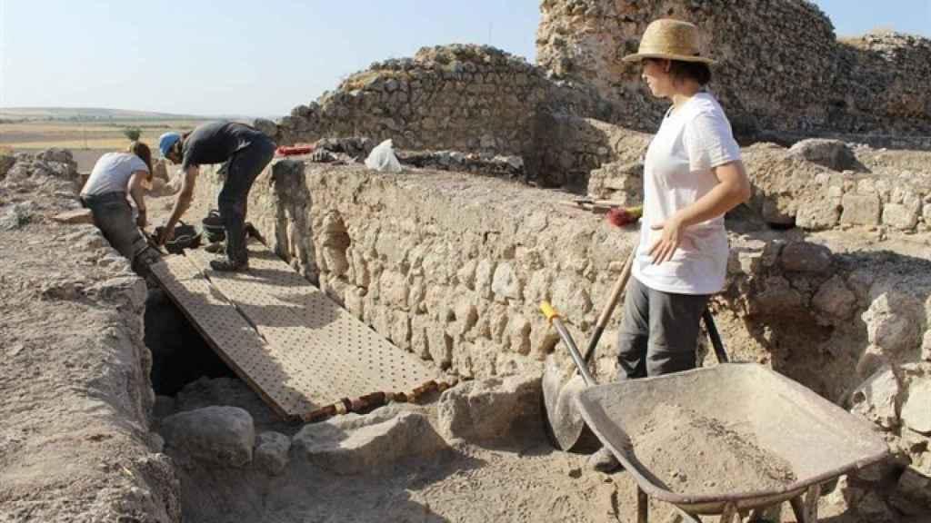 Excavaciones en Calatrava la Vieja