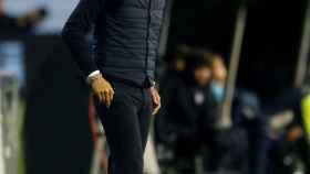 Miguel Cardoso, entrenador del Celta, en el partido ante el Leganés de La Liga