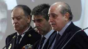 Eugenio Pino, Ignacio Cosidó y Jorge Fernández Díaz.