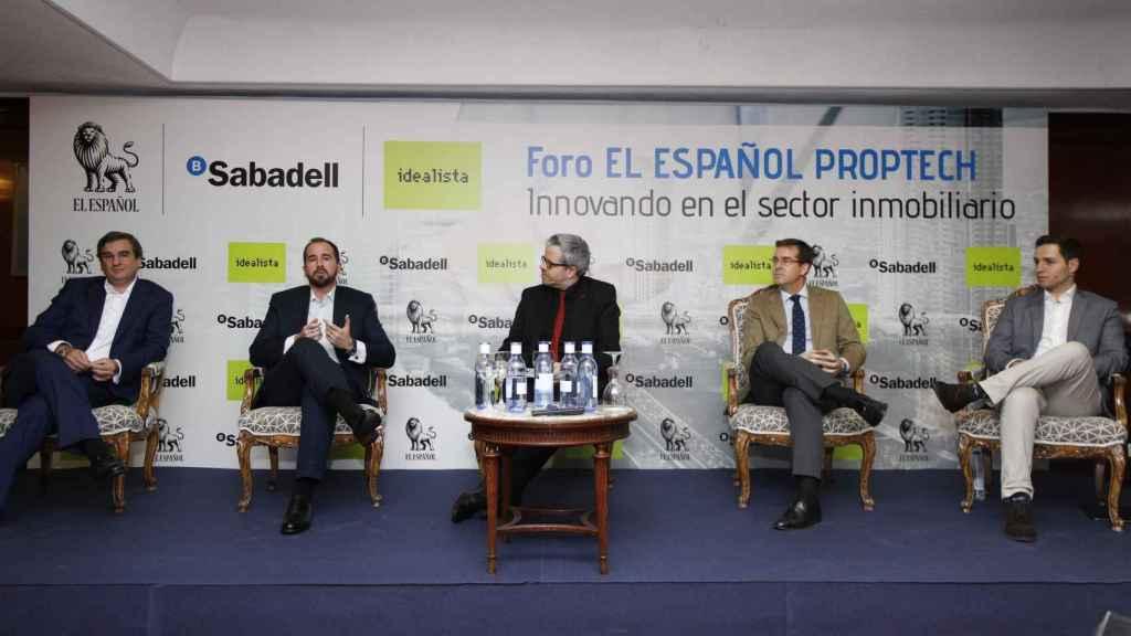 Mesa redonda Foro Proptech EL ESPAÑOL