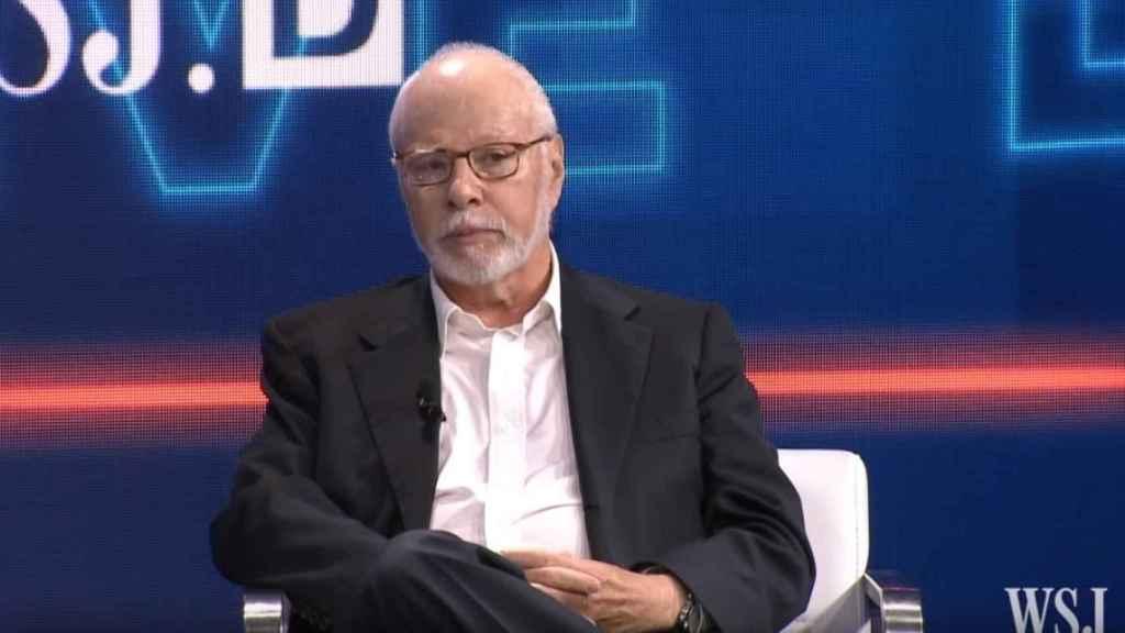 Paul Singer, fundador de Elliott, durante una entrevista.