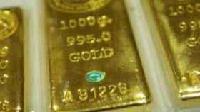 Lingotes de oro en una imagen de archivo.