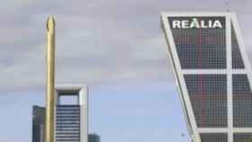 Imagen de la Torre Realia en Madrid.