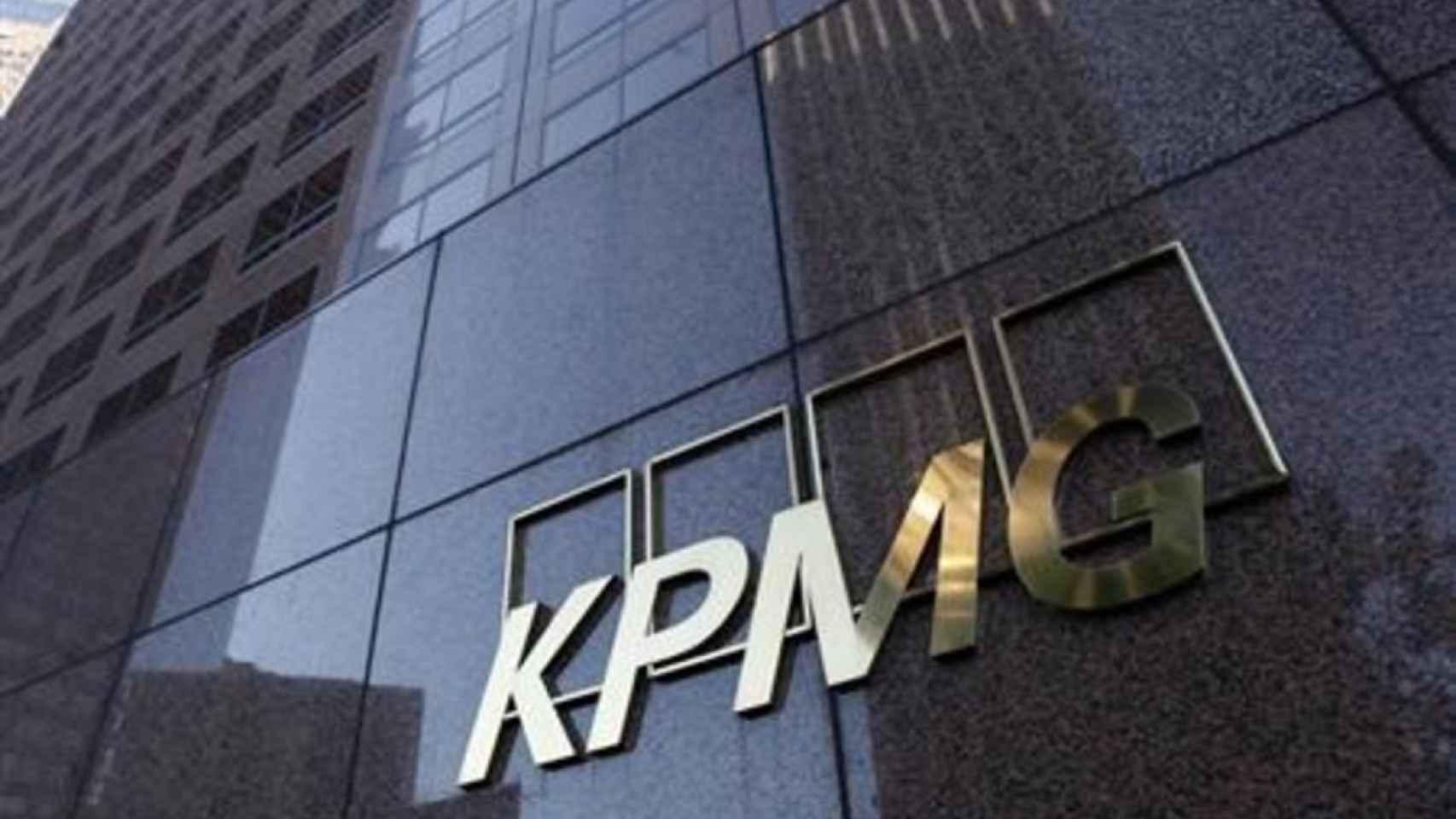 Logo KPMG.