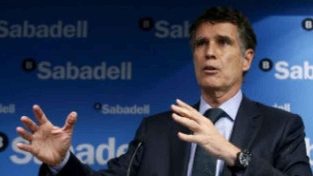 Josep Guardiola, consejero delegado de Banco Sabadell.