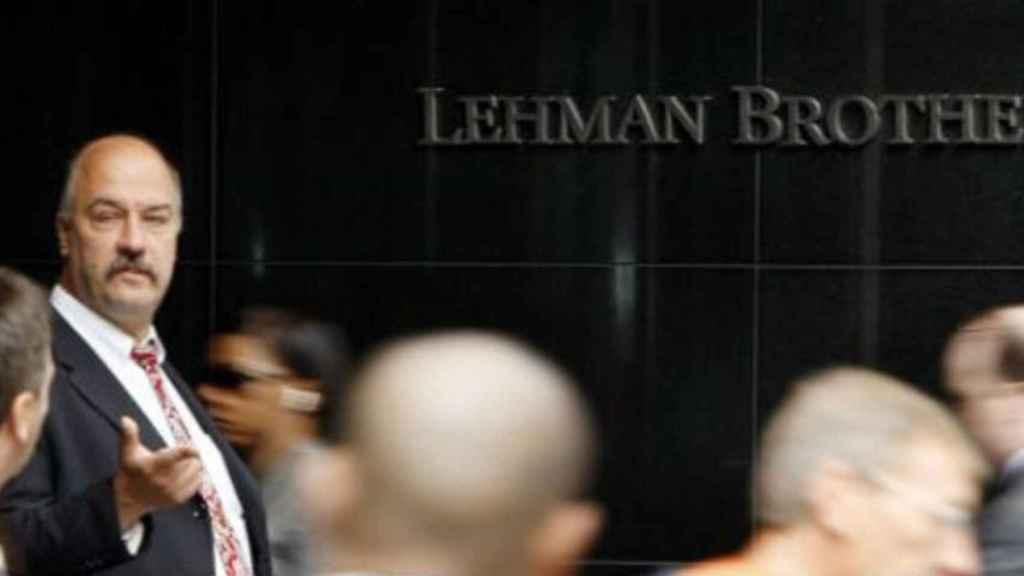 Imagen de archivo de unas oficinas de Lehman Brothers.
