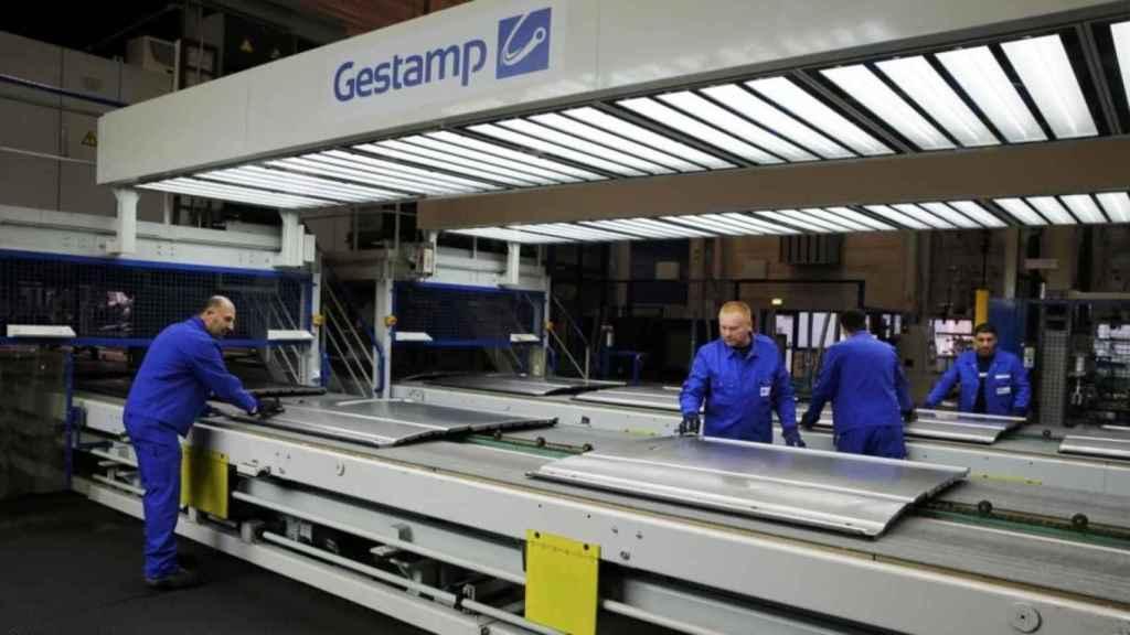 Imagen de una planta de fabricación de Gestamp.
