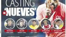 La portada del diario Mundo Deportivo (15/12/2018)