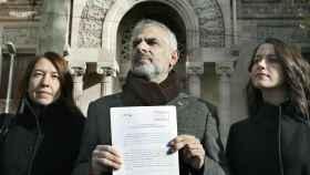 Carlos Carrizosa a la salida del Tribunal Superior de Justicia de Cataluña.