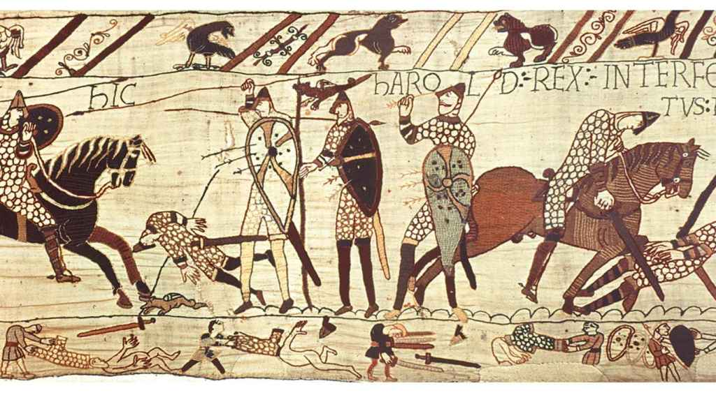 Batalla de Hastings.