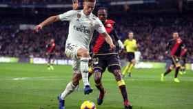 Marcos Llorente, durante un partido del Real Madrid en La Liga