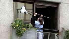 Una empleada del hogar.