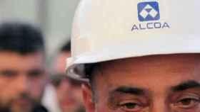 Un trabajador de Alcoa.