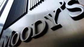 Rótulo de Moody's en una de sus oficinas.
