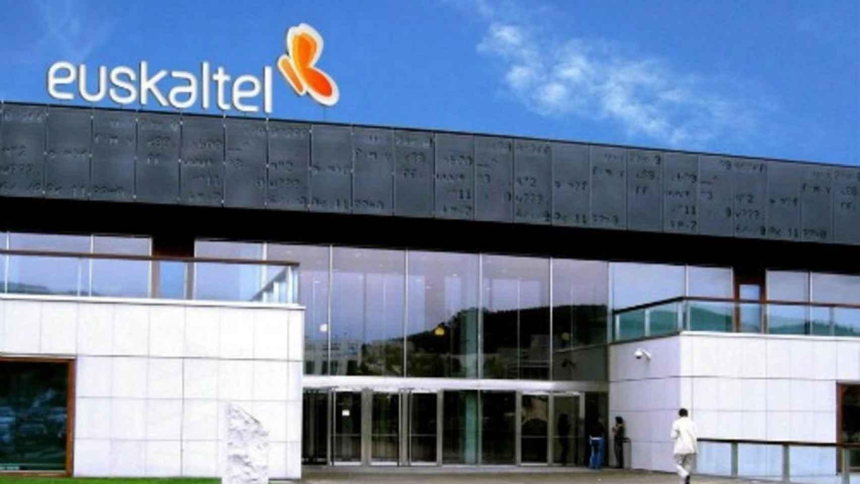 Sede de Euskaltel en una imagen de archivo.