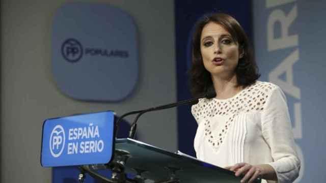 La concejal del PP en el Ayuntamiento de Madrid Andrea Levy.