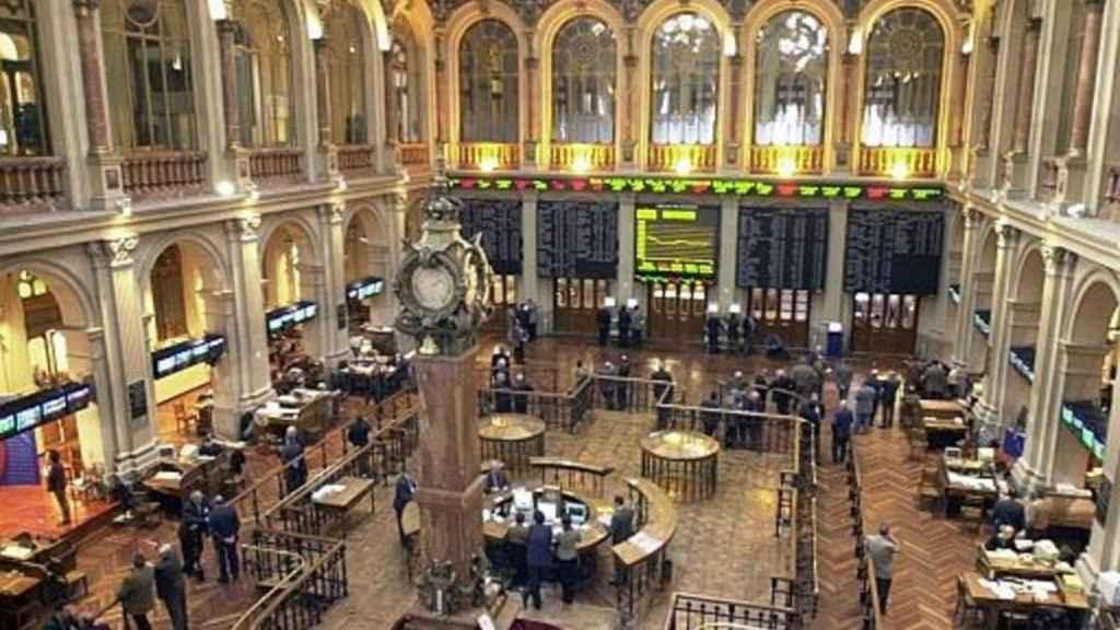 El Palacio de la Bolsa en una imagen de archivo.