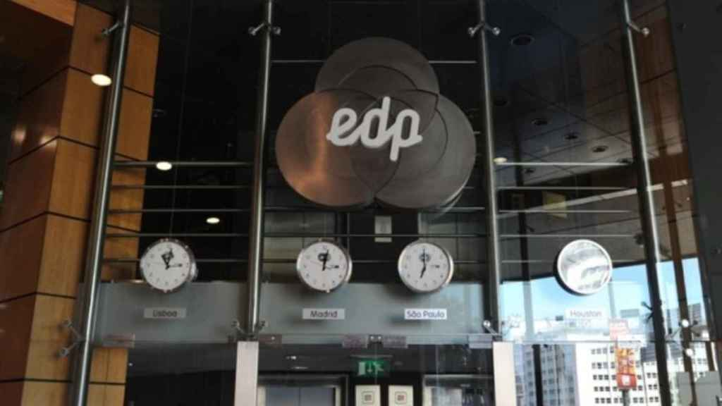 Logo de EDP.