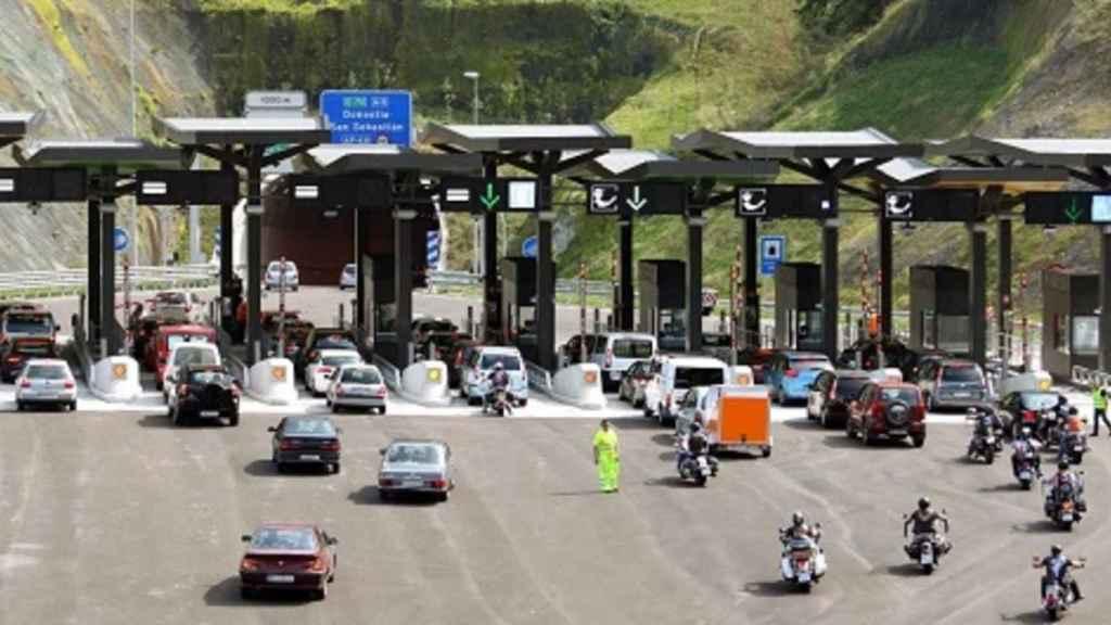 Uno de los peajes de las autopistas españolas.