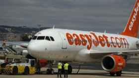 Uno de los aviones de EasyJet.