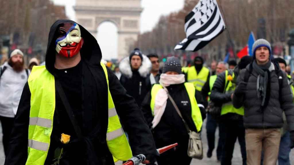 Manifestaciones de los 'chalecos amarillos'