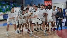 Real Madrid de baloncesto U18. Foto: u18cbunelco.com