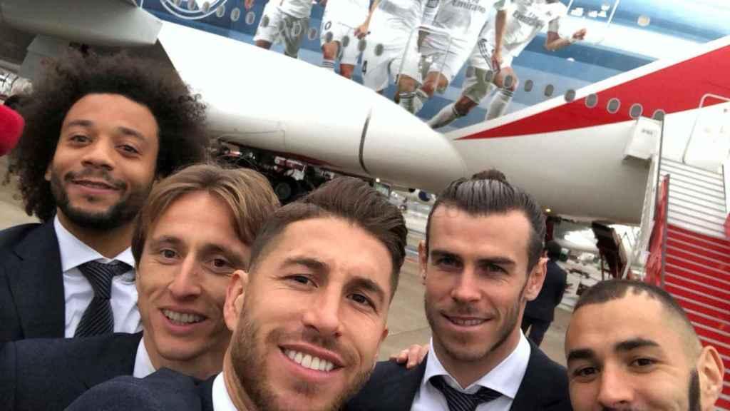 El Real Madrid ya viaja hacia el Mundial de Clubes