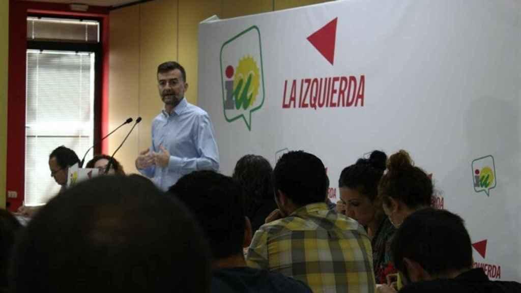 Antonio Maíllo, coordinador de IU en Andalucía.