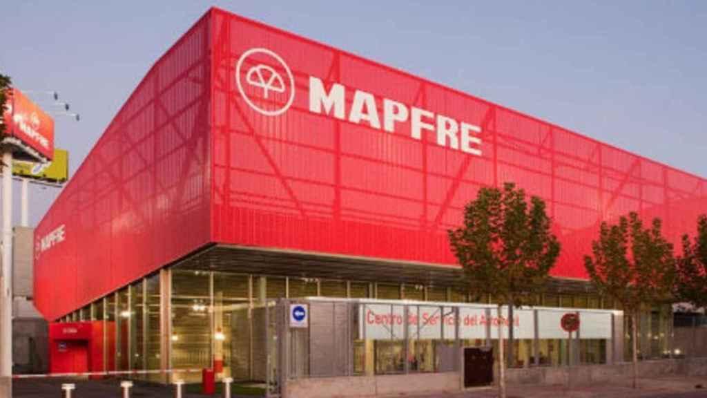 Imagen del logo de Mapfre.