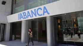 Imagen de una sucursal de Abanca.